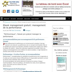 ebook management vive la performance