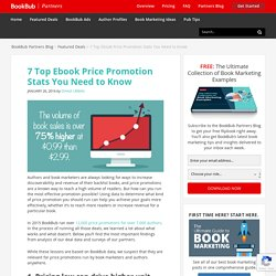 7 Top Ebook Price Promotion Stats You Need to Know