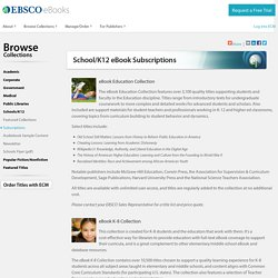 eBook Subscriptions