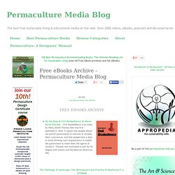 Free eBooks Archive - Permaculture Media Blog
