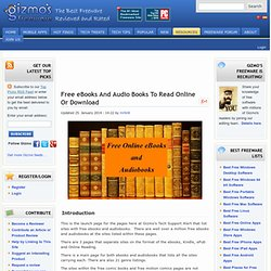 471 Places for Free eBooks Online
