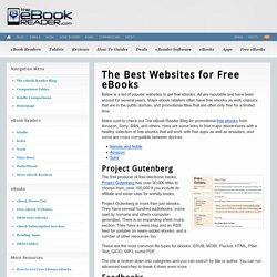 Best Sites for Free eBooks, Audiobooks, Textbooks, etc