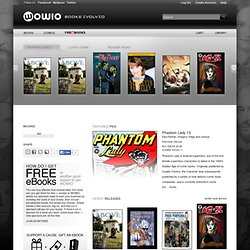 | eBooks, Comics and Graphic Novels from WOWIO