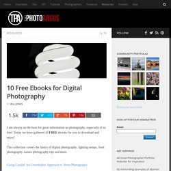 10 Free Ebooks for Digital Photography