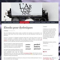 Les ebooks de l'Arlésienne