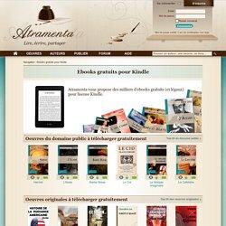 Ebooks gratuits pour Kindle