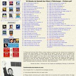 Ebooks de Samael Aun Weor à télécharger