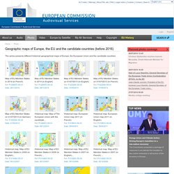 Selection of EU maps