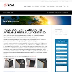 ECAT unit home