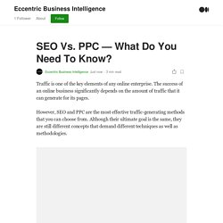by Eccentric Business Intelligence