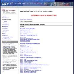 Subpart R: Public Safety LMR, 700/800MHz