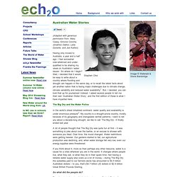 ech2o consultants ltd: Articles by ech2o