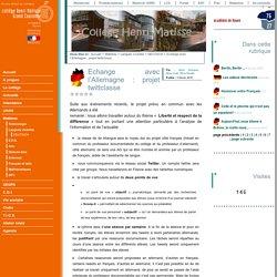 Echange avec l'Allemagne : projet twittclasse