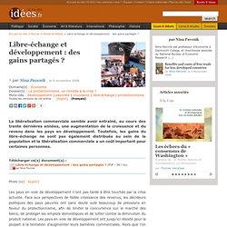 Libre-échange et développement : des gains partagés ?