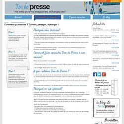 Donner et échanger vos journaux : écologique et économique