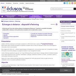 Échanges à distance : eTwinning - Échanges à distance (eTwinning)