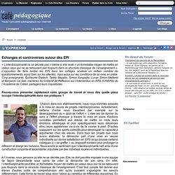 Echanges et controverses autour des EPI