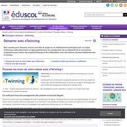 Ouverture internationale des établissements - Démarrer avec eTwinning