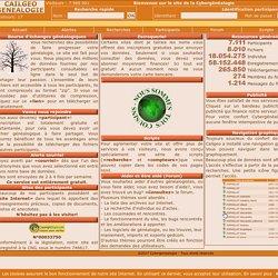 bourse d'echanges de fichiers genealogiques - Accueil