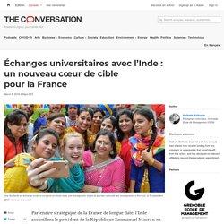 Échanges universitaires avecl'Inde: unnouveau cœur decible pourlaFrance