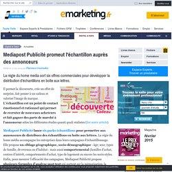 Mediapost Publicité promeut l'échantillon auprès des annonceurs