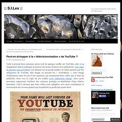 Peut-on échapper à la « télévisionnisation » de YouTube