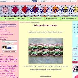 Echarpe chaînes croisées