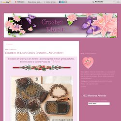 Crochet-plaisir écharpes