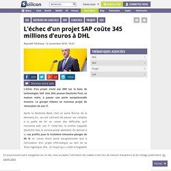 L'échec d'un projet SAP coûte 345 millions d'euros à DHL