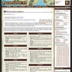 P39 les échecs critiques - Wikis Pathfinder-fr