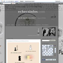 echecsinfos.com: La Belgique s'intéresse au jeu d'échecs à l'école