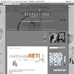 MOOC et jeu d'échecs
