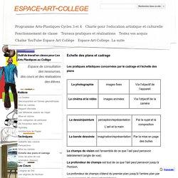 Echelle des plans et cadrage - espace-art-college