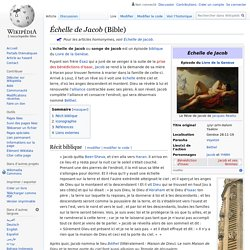 Échelle de Jacob (Bible)