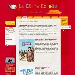 La Courte Echelle - Librairie jeunesse - Comité de lecture Collège
