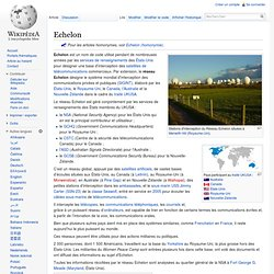 Echelon by wikipedia