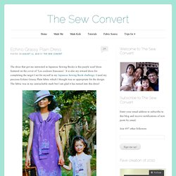 Echino Grassy Plain Dress « The Sew Convert