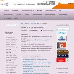 Echo n°5 du MoocHG2