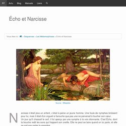 Echo et Narcisse