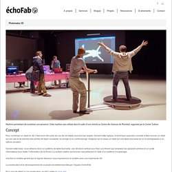 échoFab » Photomaton 3D