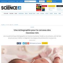 Une échographie pour le cerveau des nouveau-nés