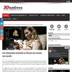 Une échographie imprimée en 3D pour une maman non-voyante