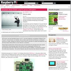 Echtzeituhr-Modul DS3231 sorgt für genaue Zeita... » Raspberry Pi Geek