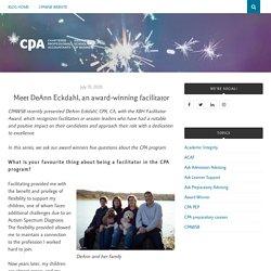 Meet DeAnn Eckdahl, an award-winning facilitator – CPAWSB Blog