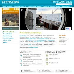 Eckerd College | Welcome to Eckerd College