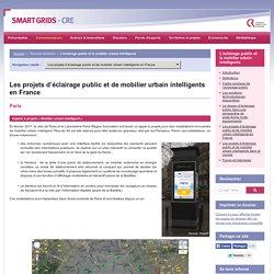 L'éclairage public et le mobilier urbain intelligents / Les projets d'éclairage public et de mobilier urbain intelligents en France