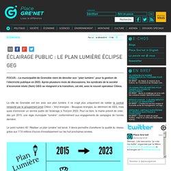 Éclairage public : le plan lumière éclipse GEG