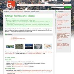 Eclairage - Rio : ressources classées