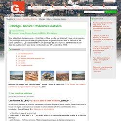 Eclairage - Sahara : ressources classées