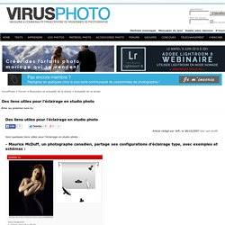 Des liens utiles pour l'éclairage en studio photo - VirusPhoto, apprendre la photo ensemble